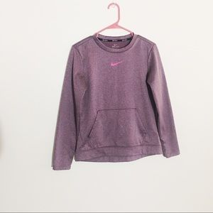 Nike small Purple Dri Fit Pullover